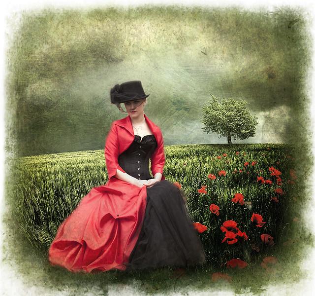 Quiet contemplation,