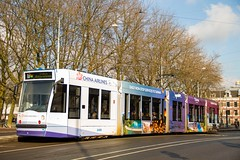 GVB Combino tram 2089, Lijn 17 | Amsterdam Elandsgracht