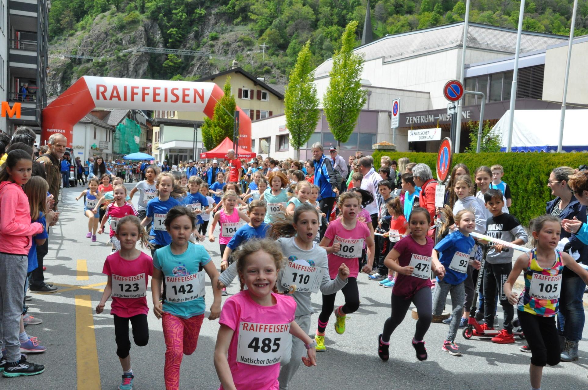 Frauenlauf Naters 2017