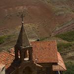 David Gareja church tower from above