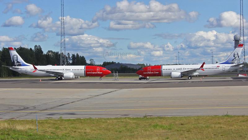 EI-FYD Norwegian Air International Boeing 737-8 MAX