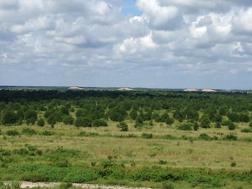 caloosahatchee florida reservoir cerp construction