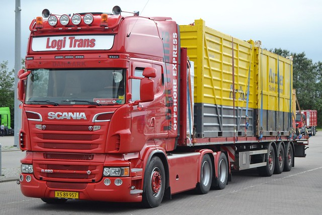 Scania R620 V8 - Josefsen Henrik Int. Transport  Bramming - XS 89 957