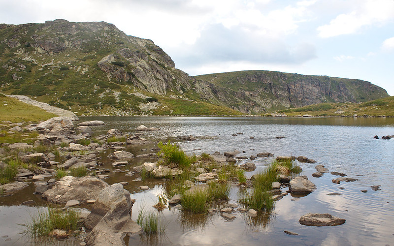 One of the seven lakes
