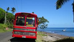 226 Bus an Küstenstr.  Daku road, Savusavu