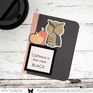 Caffeine is the new black by Amy Tsuruta for SRM Stickers