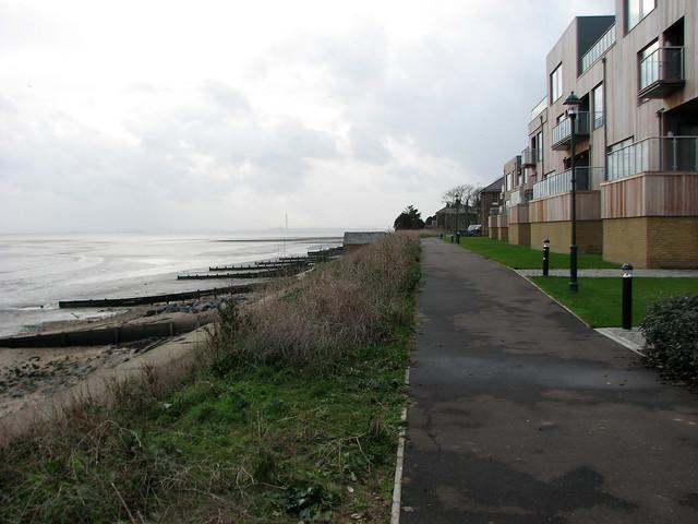 The coast at Shoeburyness