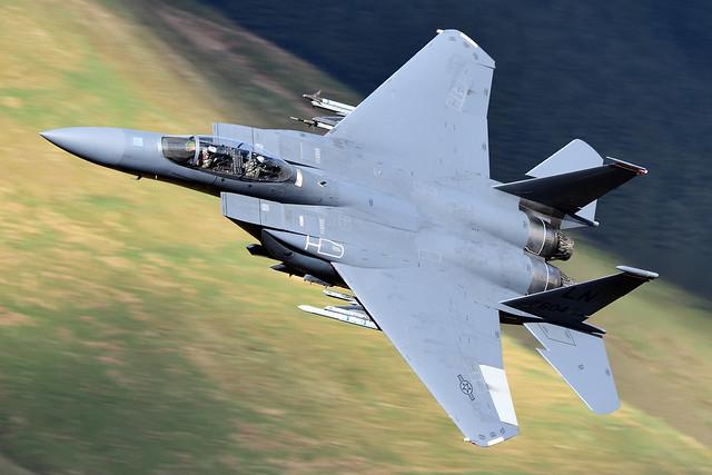 F-15E Strike Eagle I 91-0604/LN I 494th FS 'Panthers' USAFE