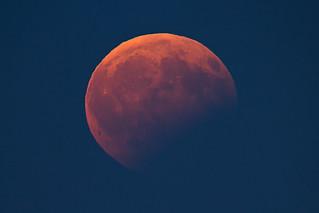 Partial Lunar Eclipse, 2017-08-07 | by herbraab