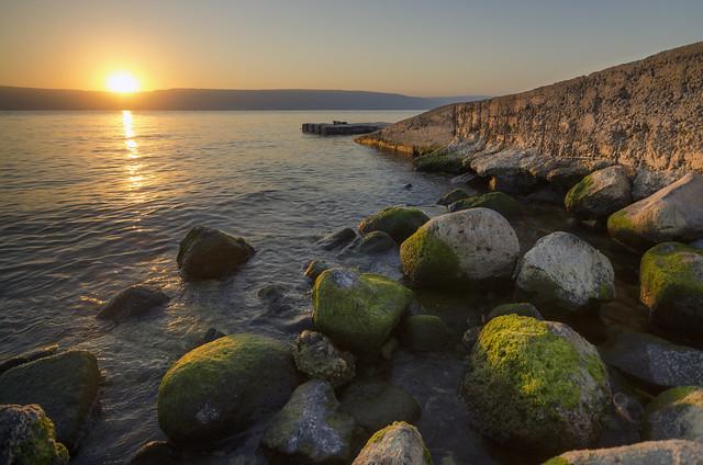 Sunrise on Lake Galilee