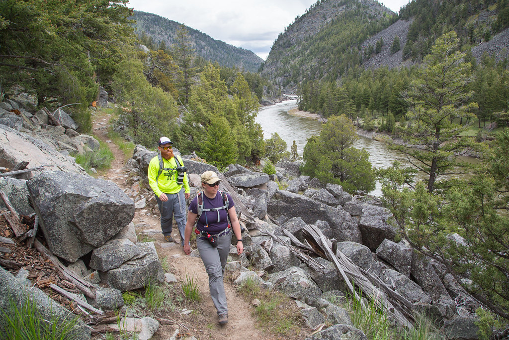 Hiking the Yellowstone River Trail | NPS / Neal Herbert