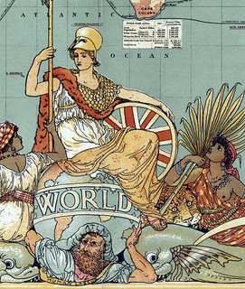 Imperial_Federation,_Map_of_the_World_Showing_the_Extent_of_the_British_Empire_in_1886_(levelled) | by The Public Domain Review