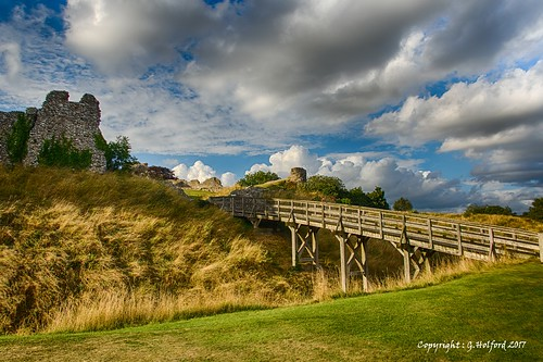 norfolk castleacre bridge englishheritage clouds sunlight nikon d750 sky landscape summer span england britain arch arched walkway moat spanned spanning eastanglia wonderful fave superb dramatic old ancient warm uk english longbridge bigclouds cloudsandsky