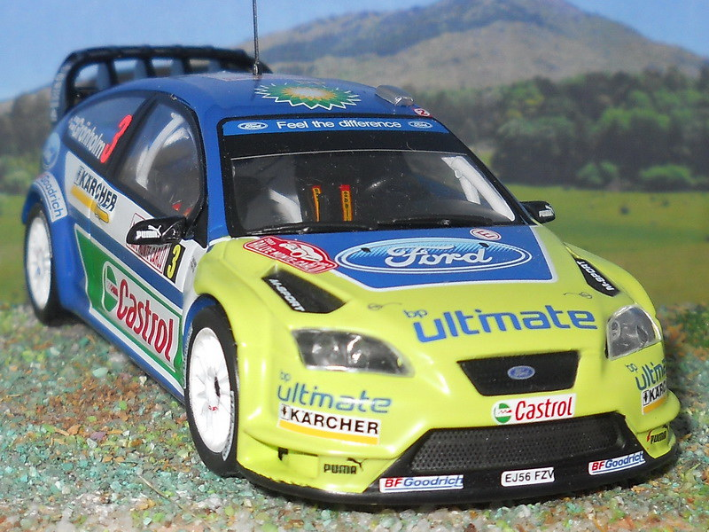 Ford Focus RS WRC - Montecarlo 2007