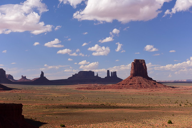 Monument Valley Navajo Tribal Park, Arizona, US August 2017 811