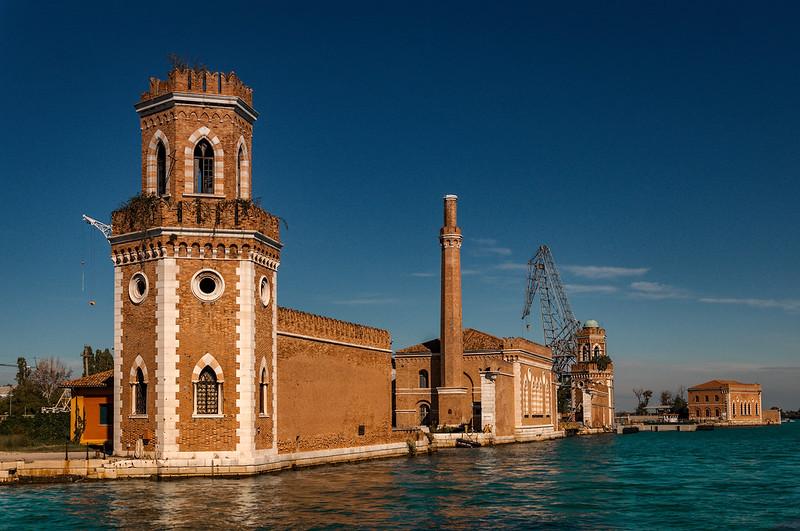 Venedig von hinten
