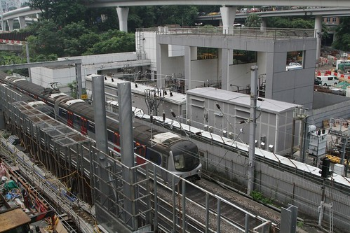 Traction substation for the MTR East Rail at Ho Man Tin