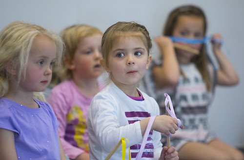 Kids from Pebbles Pre School