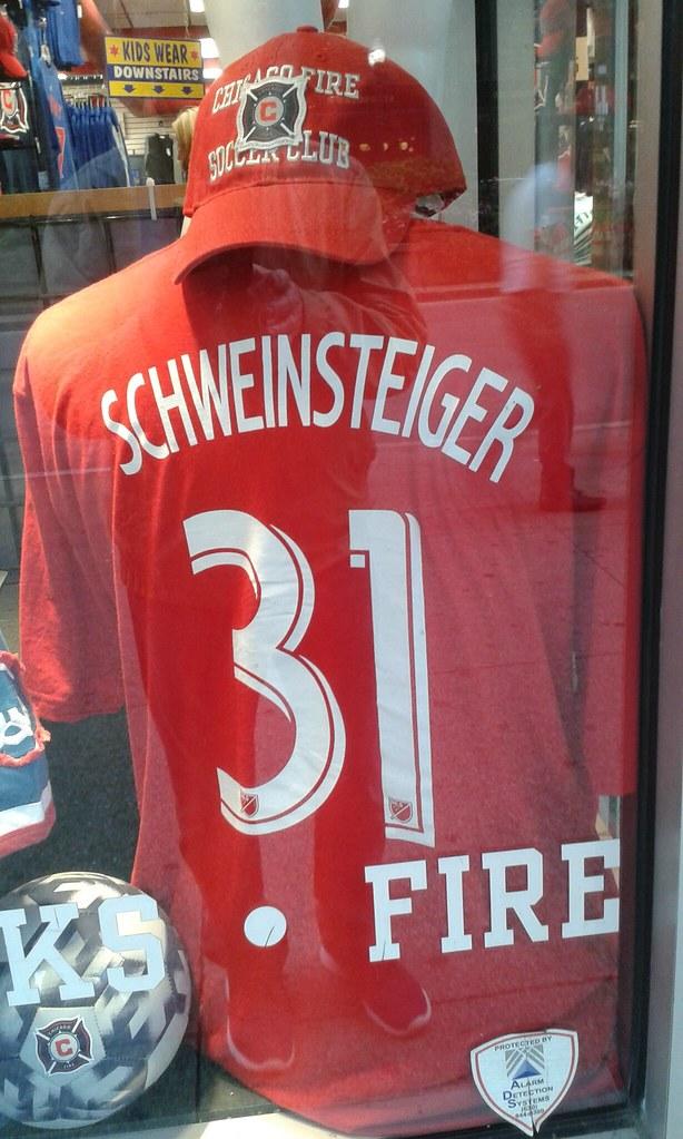 purchase cheap 220ff 895d6 Schweinsteiger Trikot. ...Chicago Fire Soccer Club   Flickr