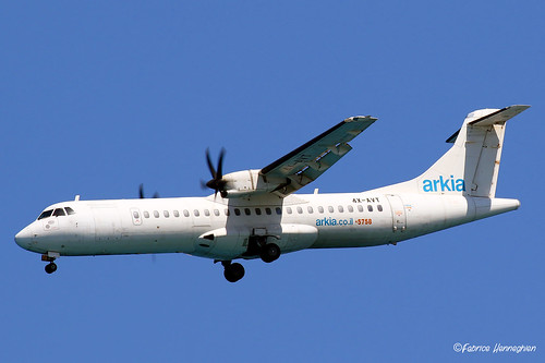 4X-AVT Arkia - Israeli Airlines ATR 72-500 (72-212A) | by Planes , ships and trains!