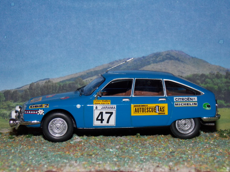 Citroën GS – Rallye RACE 1977