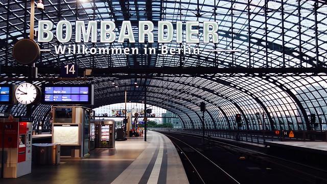 Berlin Hauptbahnhof / Berlijn