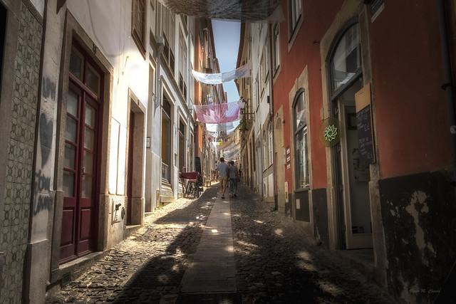 Calles de Coimbra.
