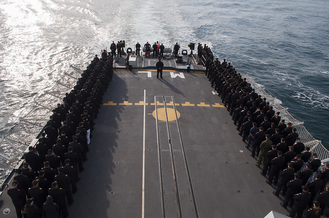 HMCS Athabaskan Memorial Service