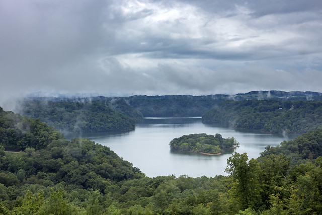 Island View overlook, Dale Hollow Lake, Pickett County, Tennessee