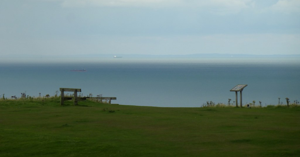 View of France from Fairlight