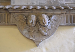mournful cherubs