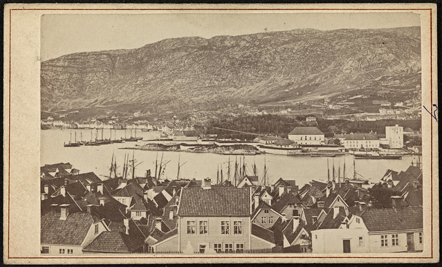 Parti af Bergen fra Fredriksberg