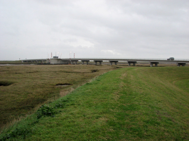 Havengore Creek and bridge
