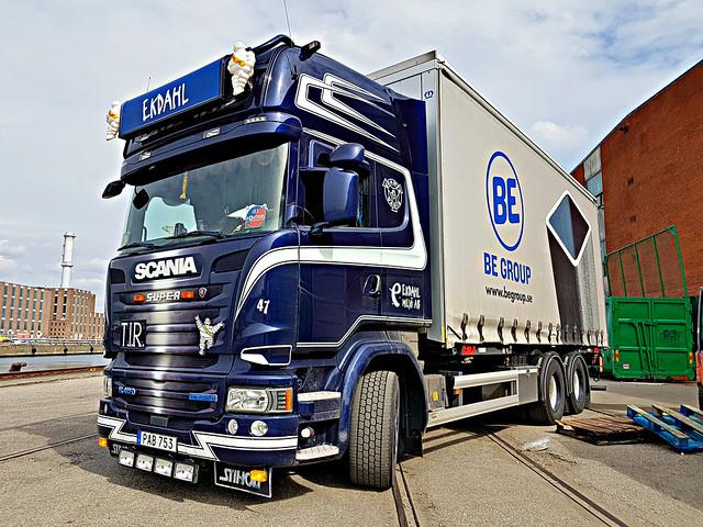 Scania R450 (T.I.R) - Ekdahl Miljö AB - BE Group