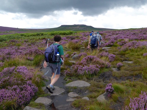 Setting off after lunch Sheffield to Bamford walk