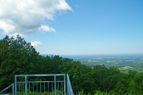 meadow creek lookout tower cherokee tennessee