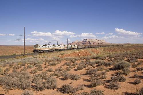 bmlp blackmesalakepowell railroad electric catenary e60 train railway rr rwy