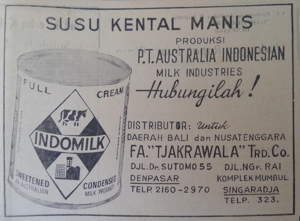 Susu Indomilk - Suluh Marhaen, 27 November 1969