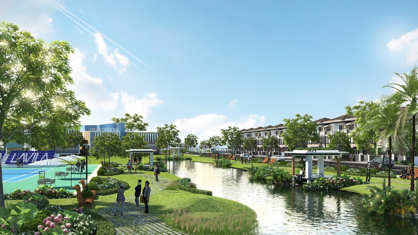 Dự án Lavila Nam Sài Gòn kiến tạo một không gian sống thịnh vượng cho cộng đồng cư dân.