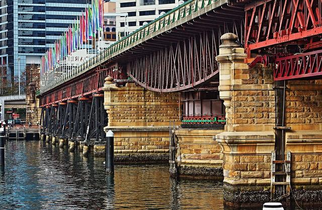 Pyrmont Bridge Understructure