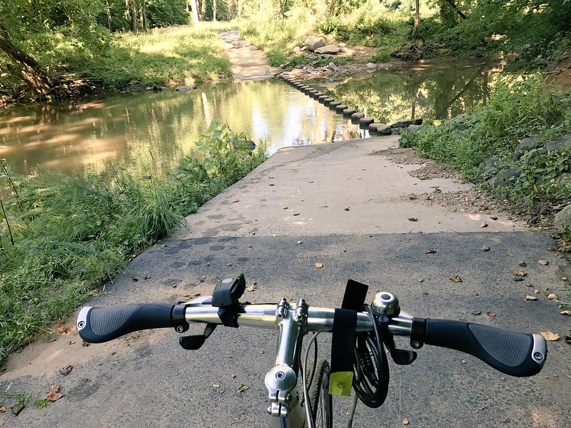 deep crossing in Holmes Run