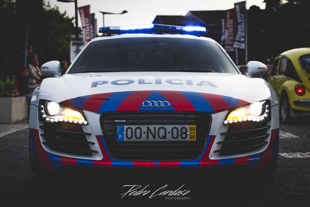 Audi R8 Police Pedro Cardoso Photography Flickr