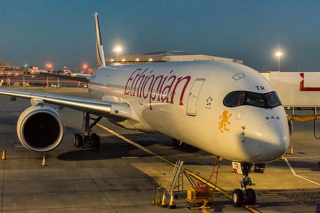 ET-ATR | A350-900 | Ethiopian Airlines | London Heathrow | March 2017