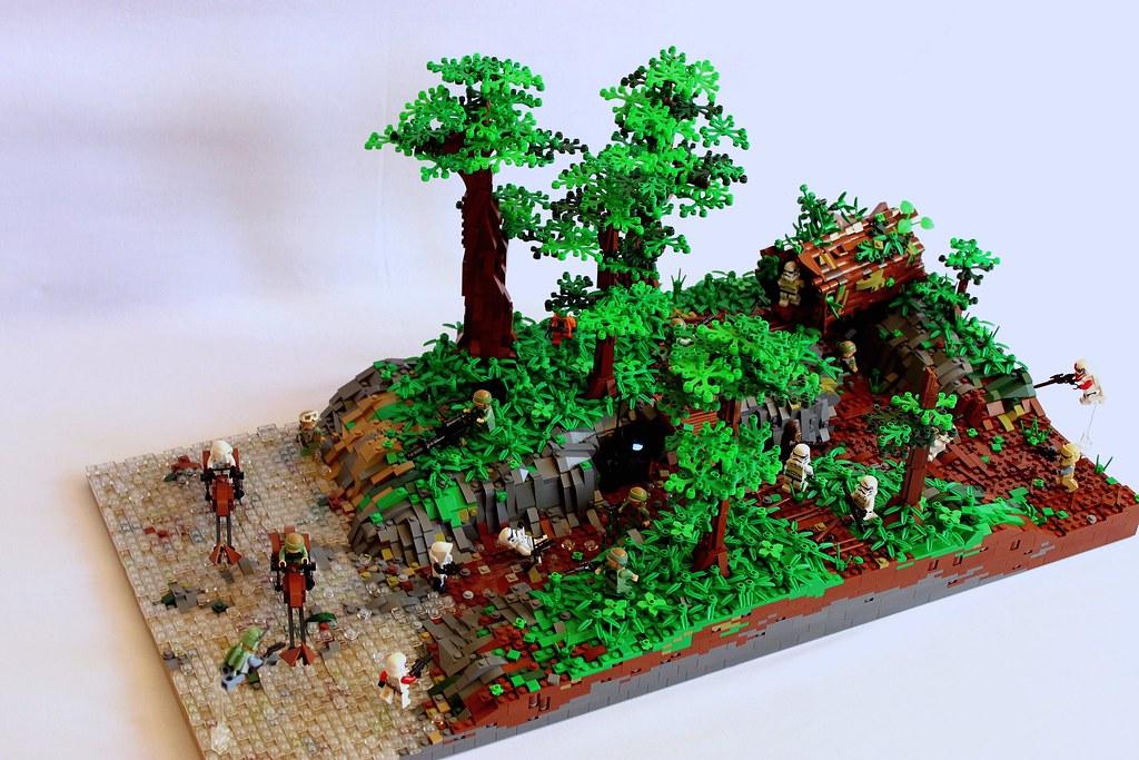 Lego Star Wars Battlefront Endor Forest Moc Can You Guess Flickr