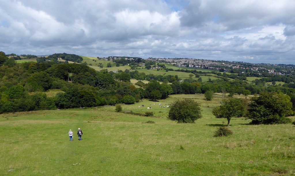 First view Sheffield to Bamford walk