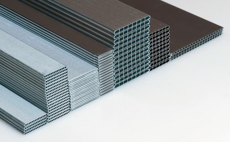 Extruded aluminium: shapes