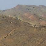Lone abondoned tower along Georgian Azerbaijan border