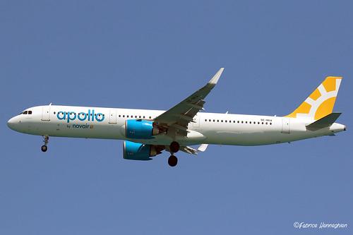 SE-RKA Novair Airbus A321-251N(WL)   by Planes , ships and trains!