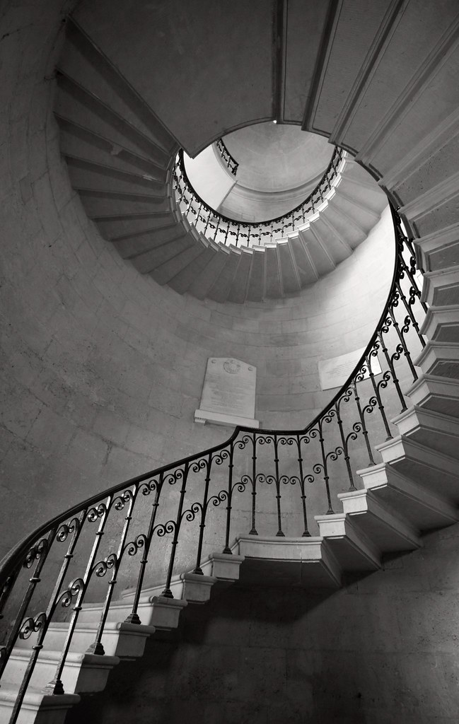 Spiral Stair, Worcester College | This Beautiful Staircase L ...