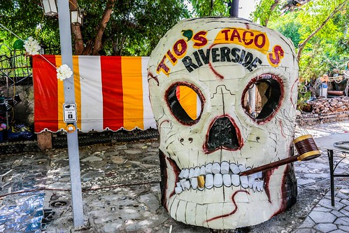 tiostacos riverside mexican martinsanchez recycled assemblage art folk bottleart dreamgarden junk repurposed california ca socal southerncalifornia inlandempire smileonsaturday creepycreatures crazytuesday halloween